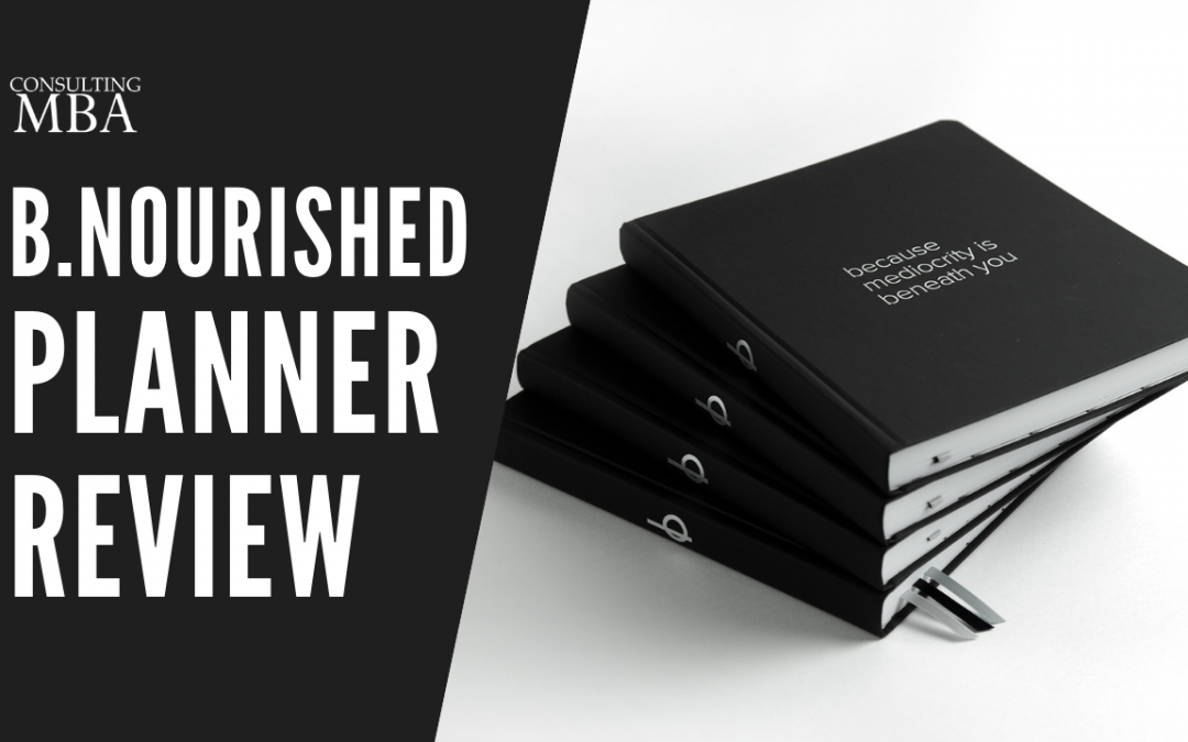 bnourished Planner Review